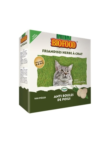 Friandise herbe à chat